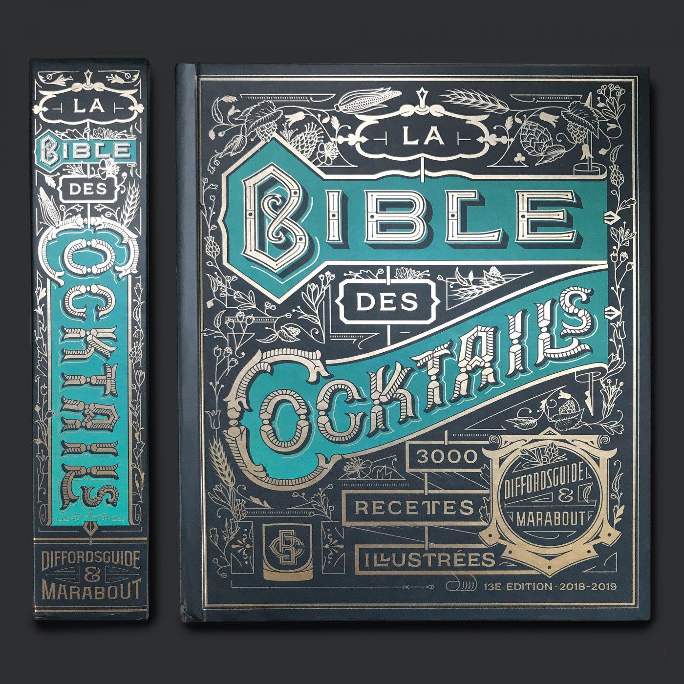 LA BIBLE DES COCKTAILS 2018   Kevin Cantrell Studio